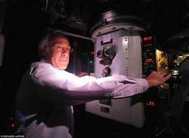 Danny Danziger en el periscopio