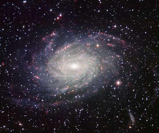 una galaxia en la Vía Láctea