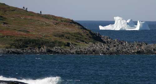 turismo de avistaje de icebergs en Twillingate,  Canadá