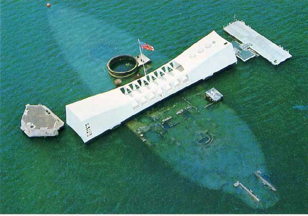 memorial USS Arizona en Pearl Harbor