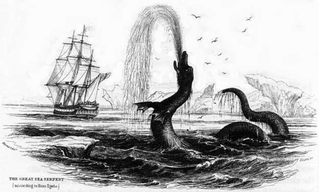 monstruo marino de Egede