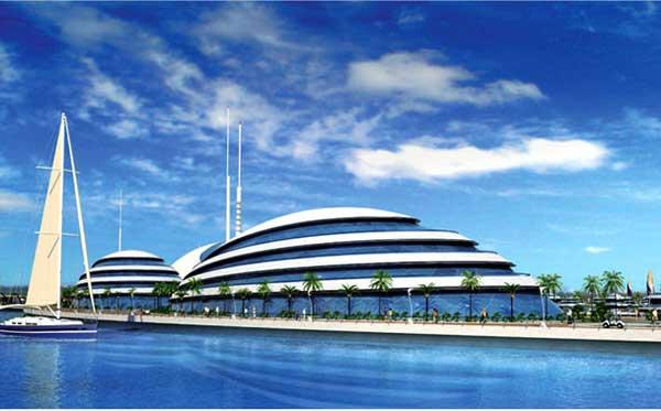 resort anfibio en Qatar