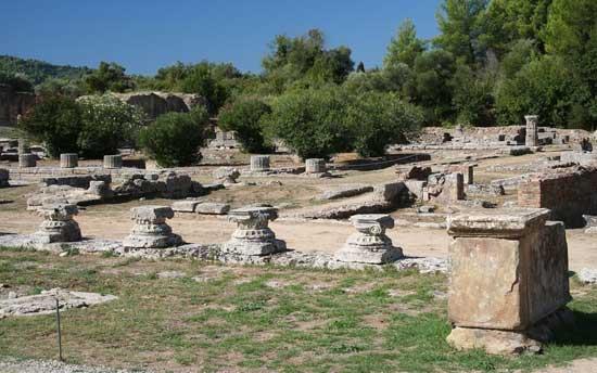 ruinas de Olimpia