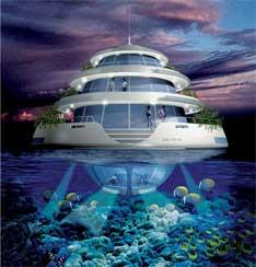 Plataforma semi-sumergible medusa Qatar
