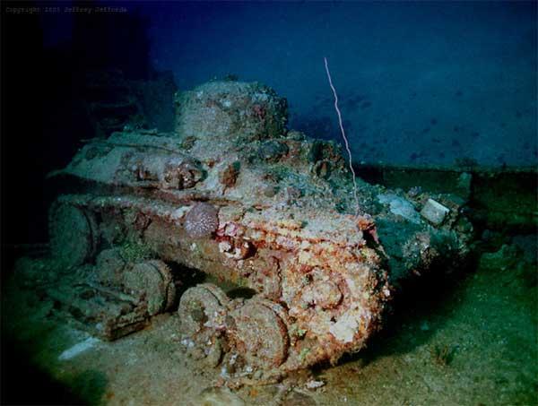 tanque del barco japonés Nippo Maru