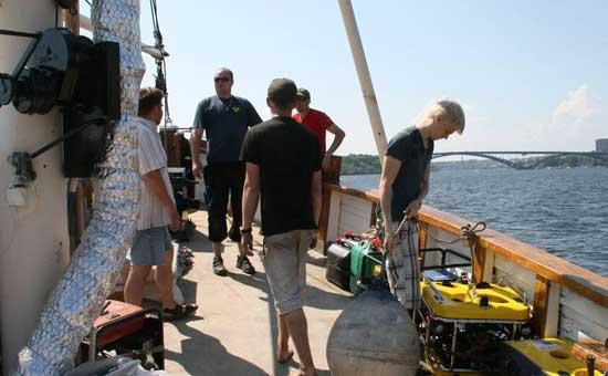 tripulación de Ocean Explorers