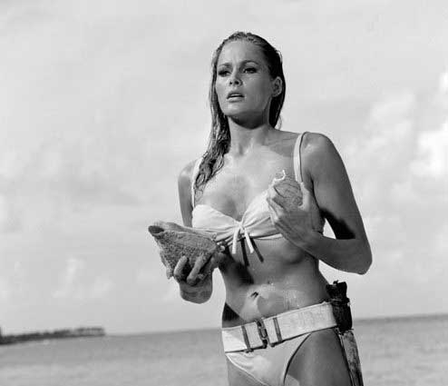 Ursula Andress en bikini