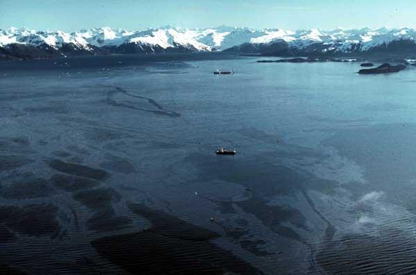vertido del Exxon Valdez en Alaska