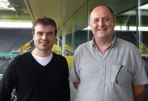 Alfredo Martinez y Antoni Rosell