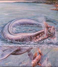 Basilosaurus isis, reconstrucción artística