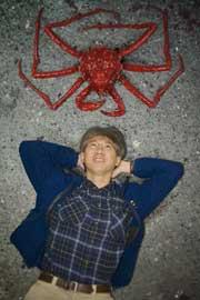 cangrejo rey y el dr. Shane Ahyong