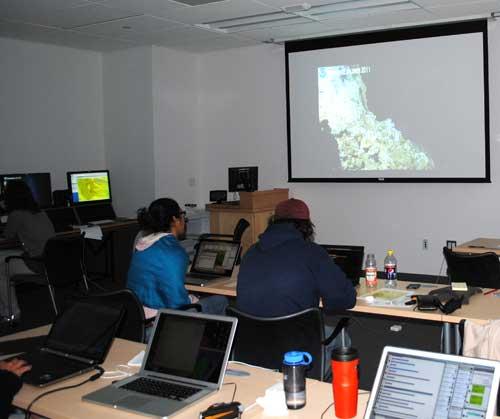 cientificos de la expedición Okean Explorer de la NOAA