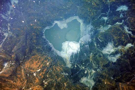 cráter del volcán submarino Axial