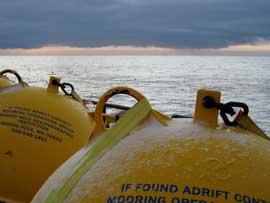 boyas flotantes para medición corriente de Islandia