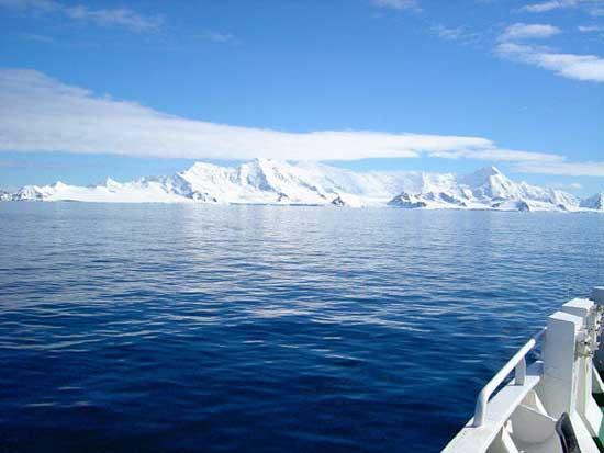isla de Livinstong en el Océano Antártico