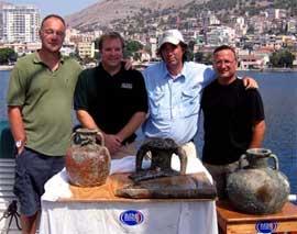 Jeff Royal y otros arqueólogos marinos