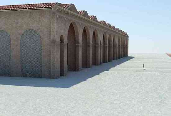 antiguo astillero romano en Portus