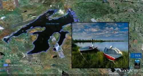 bosque boreal de Canadá, humedales