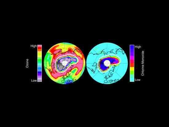capa ozono en el Ártico 2011