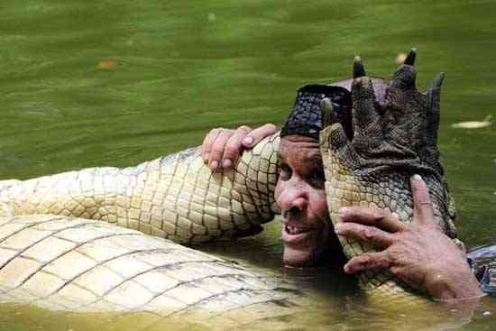 Chito y su cocodrilo Pocho