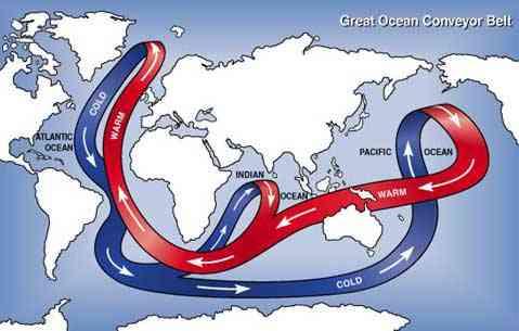 cinta transportadora de los océanos