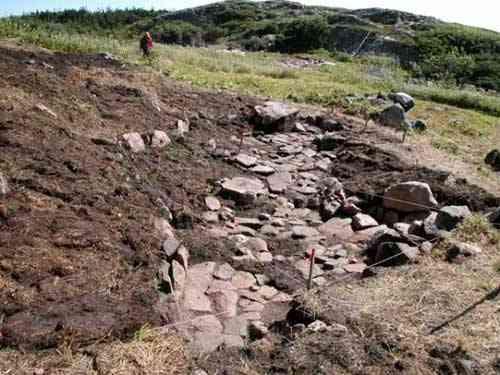 excavación casa inuit