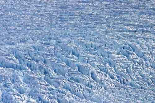 grietas en la capa de hielo de Groenlandia