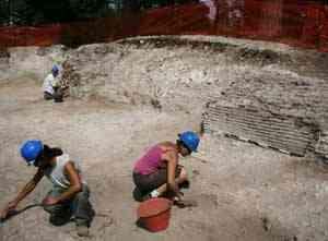 excavación en Portus