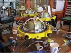 sismógrafos submarinos