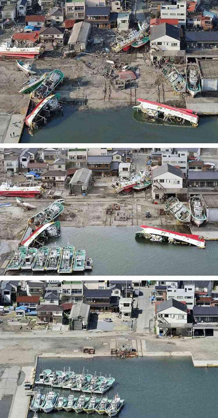 puerto pesquero de Soma en Matsukawaura