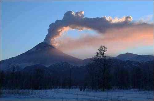 volcán Kizimen