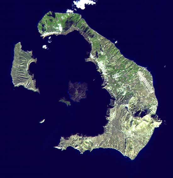 Archipiélago de Santorini, Grecia