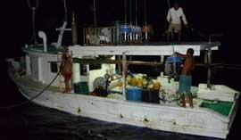 barco pesquero ilegal apresado en Malpelo