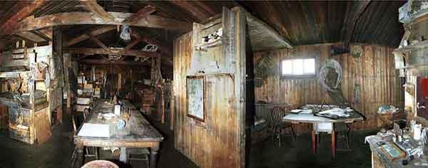 cabaña del cabo Evans en la actualidad