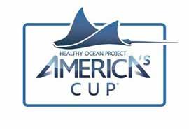 logo 34ª Copa América de Vela, océanos saludables