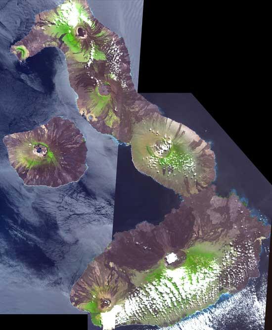 Islas Galápagos, Ecuador en 3D