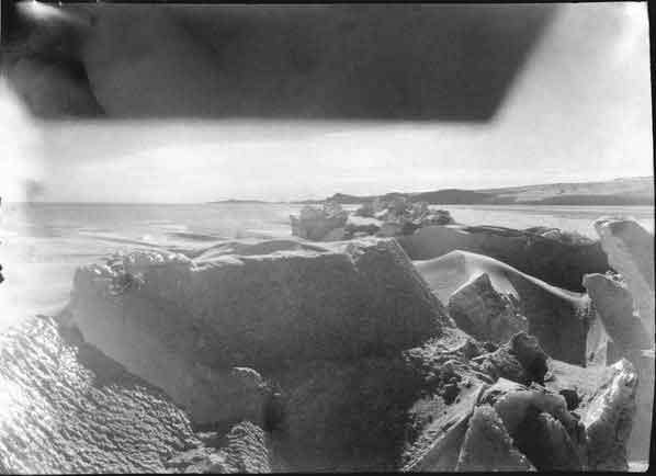 grieta de hielo, fotografia de Robert Falcon Scott