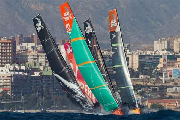inicio de la Volvo Ocean Race 2011-2012 en Alicante