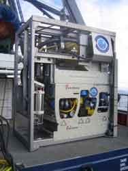 ROV Liropus 2000, estación