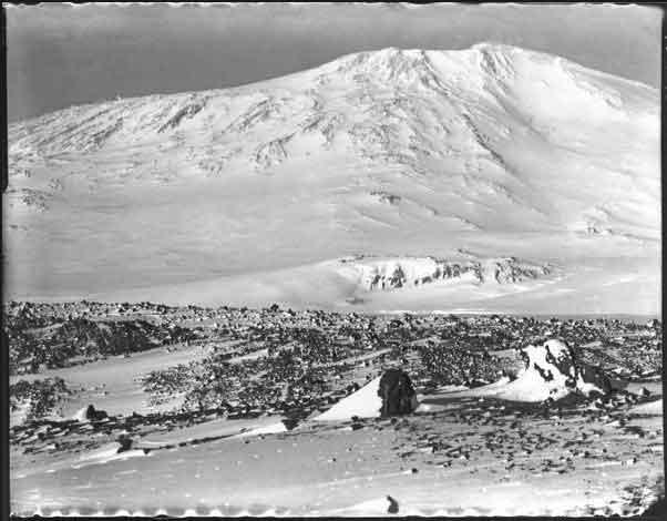 monte Erebus, Antártida, expedición Scott al Polo Sur