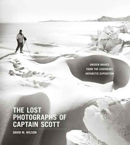 The Lost Photographs of Captain Scott, portada