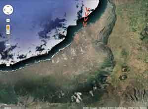 situación de la Webcam de El Hierro, Islas Canarias