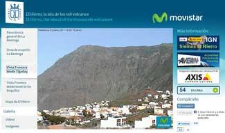 webcam El Hierro en Frontera desde Tigaday