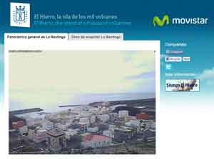 webcam El Hierro, La Restinga