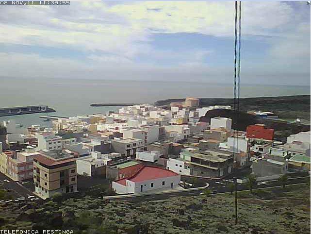 webcam La Restinga, El Hierro