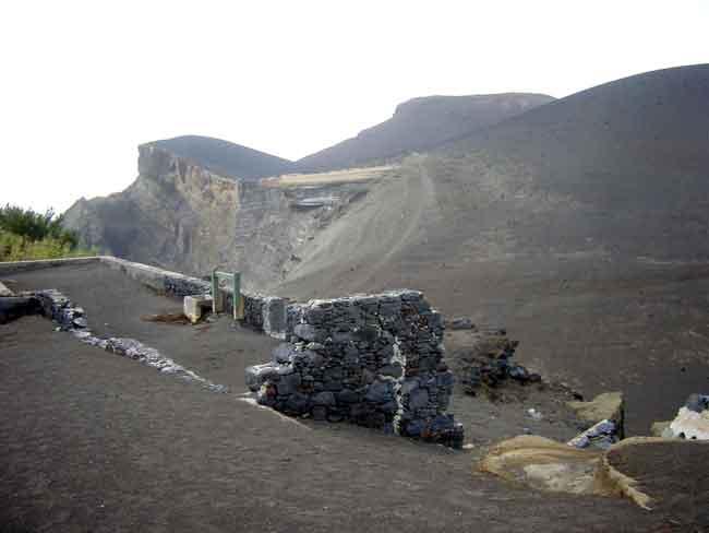 cono volcánico  de Capelinhos