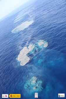 emisiones de burbujas y gases La Restinga, El Hierro 4-11-2011
