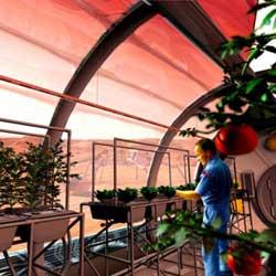 hábitat humano en Marte