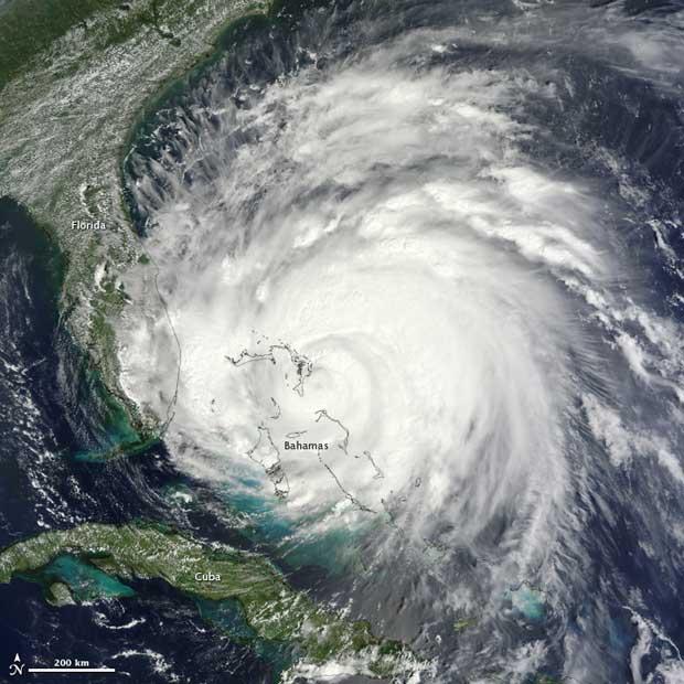 huracán Irene julio 2011