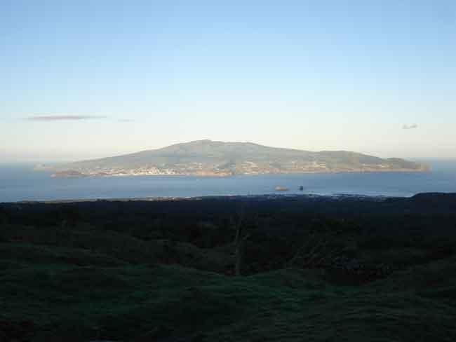 Isla Faial, Azores - vista general